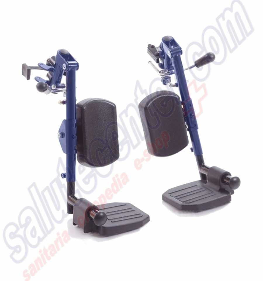 Pedane elevabili reggigambe per sedia a rotelle pieghevole for Joystick per sedia a rotelle
