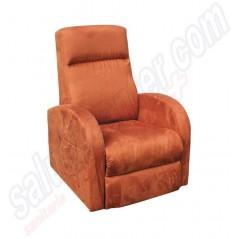 Promo poltrona slim reclinabile relax 1 motore alza persona Palermo S1