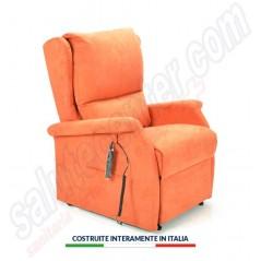 Poltrona relax alza persona Firenze 2 motori con seduta a bolle d'aria