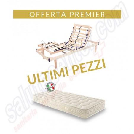 Offerta Premier rete elettrica rinforzata anziani + Materasso Premier euro 499