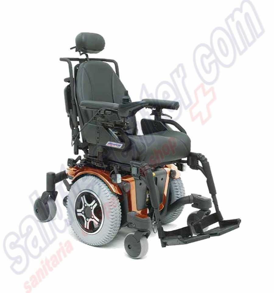 Carrozzina elettrica sedia a rotelle elettronica quantum for Joystick per sedia a rotelle