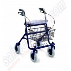 Deambulatore per Anziani e Disabili Rollator a 4 Ruote
