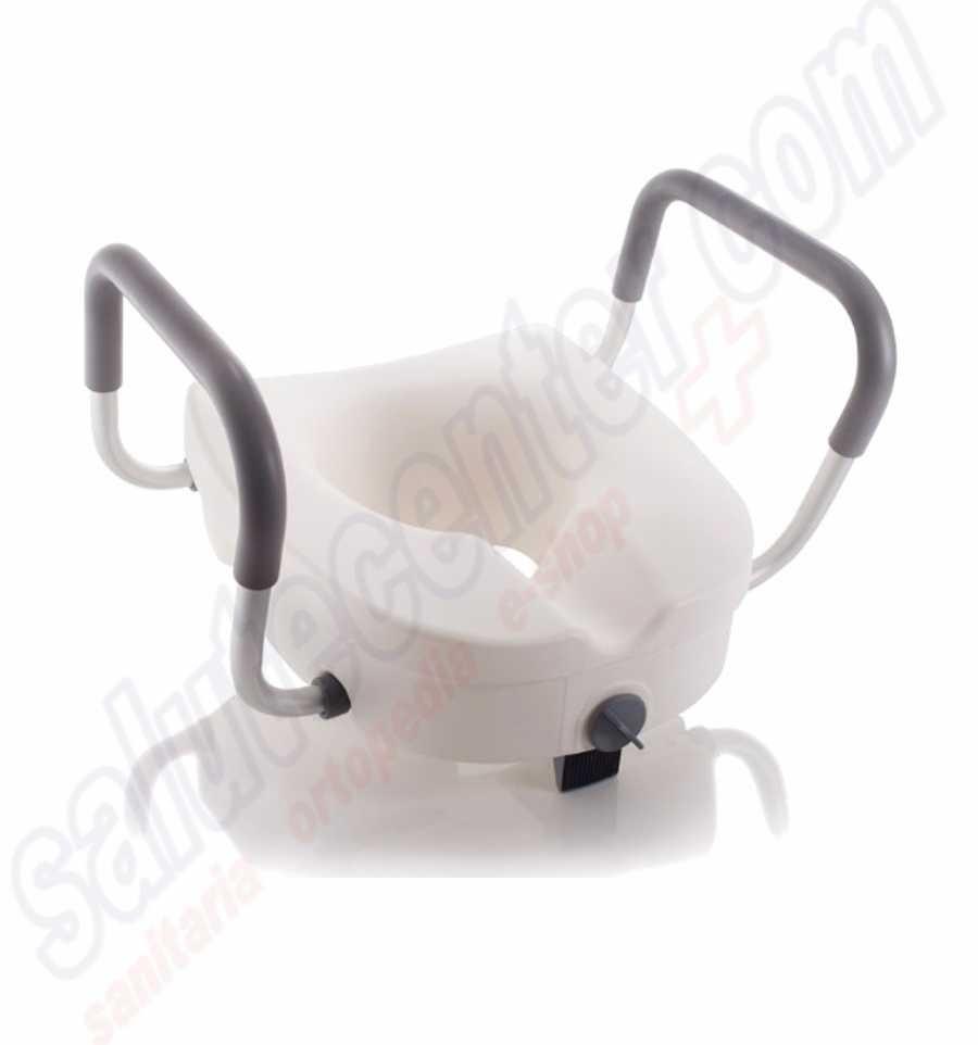 Ausilio da bagno per disabili rialzo water universale con blocco ce - Rialzo per bagno ...