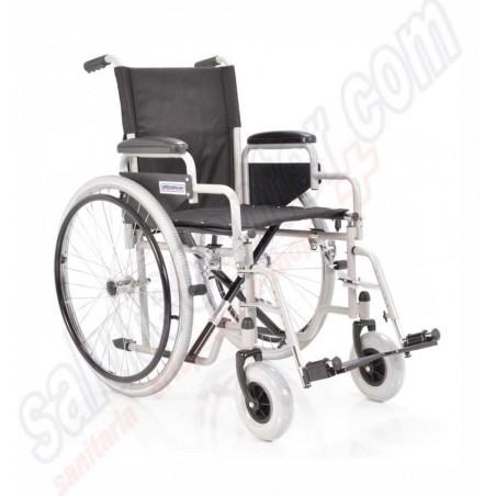 carrozzina pieghevole ad autospinta per disabili anziani ed invalidi