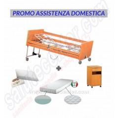 Promo Assistenza Domestica Letto Ospedaliero+Comodino+Materasso Antidecubito