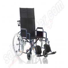 Offerta sedia a rotelle con schienale prolungato carrozzina pieghevole
