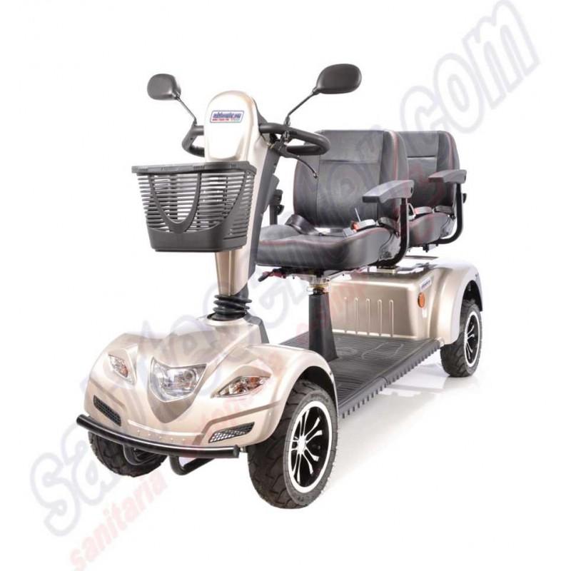 Scooter elettrico per anziani a due posti in tandem offerta esclusiva