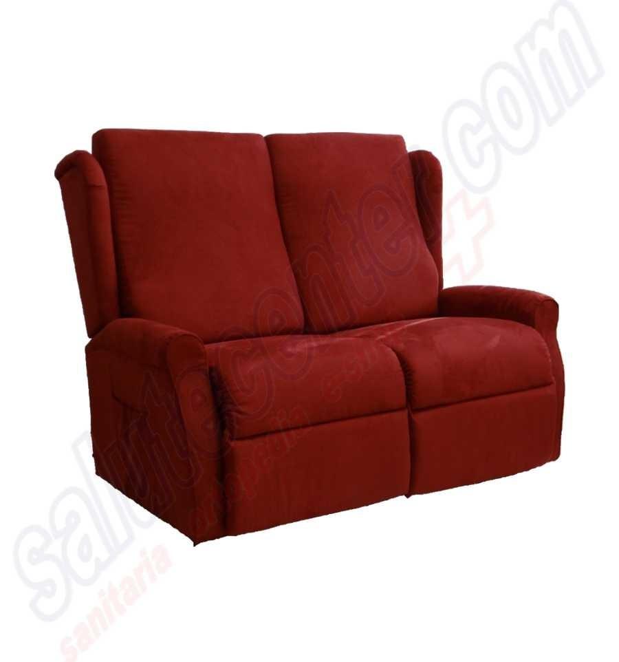 Divano ancona 2 posti una seduta alza persona 1 motore ed for Divano reclinabile 2 posti