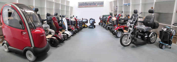 showroom scooter elettrici