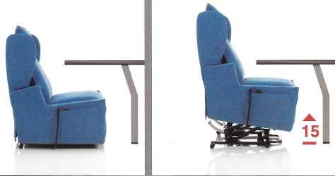 poltrona relax sfoderabile firenze 4 alza persona con tavolino e 4 ... - Poltrona Relax Motorizzata Balance