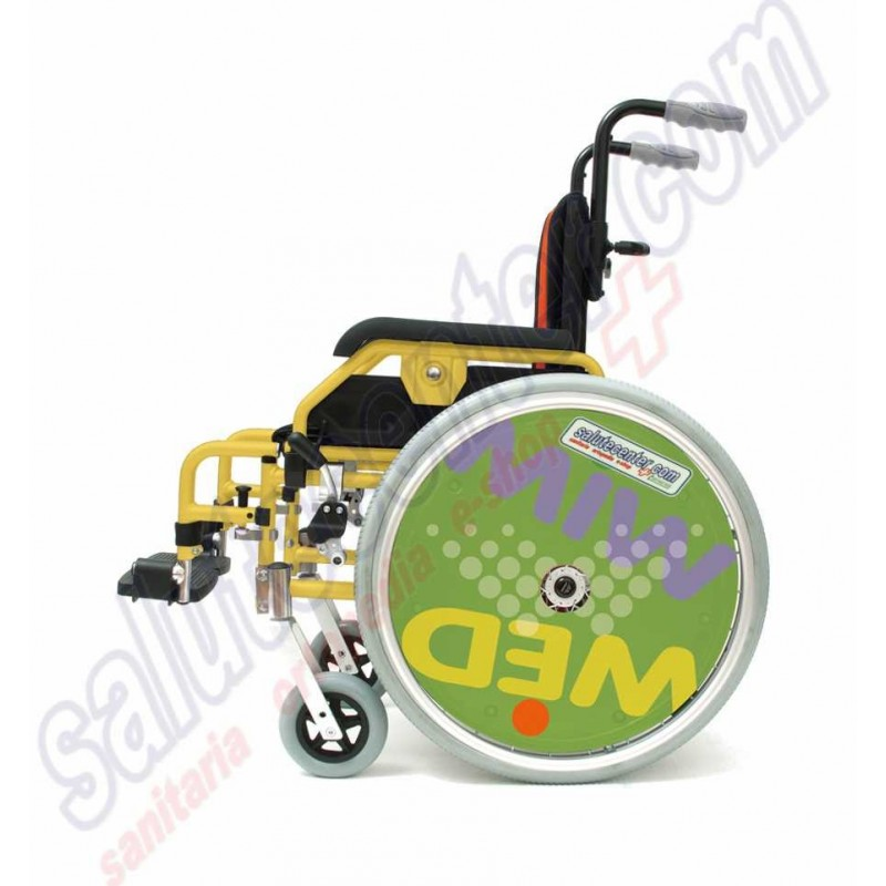 Winner kids sedia a rotelle di piccole dimensioni per for Sedia a rotelle ruote piccole