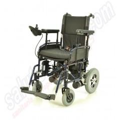Sedia a rotelle carrozzina elettrica per invalidi in acciaio K power