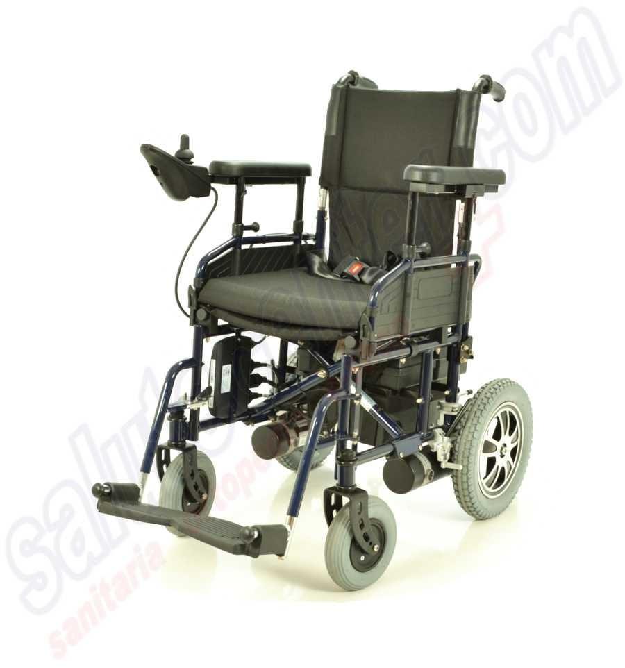 Sedia a rotelle carrozzina elettrica per invalidi in for Genio in sedia a rotelle