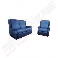 Offerta poltrona con divano relax alzapersona per anziani e disabili