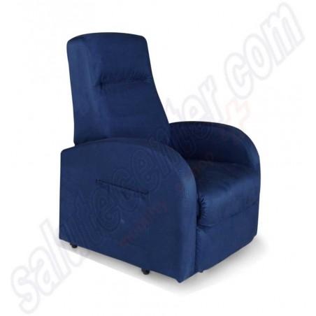 PALERMO S1: Promo poltrona slim reclinabile relax 1 motore alza persona