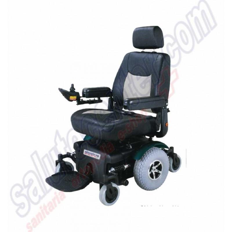 Overland sedia a rotelle elettrica polifunzionale for Sedia a rotelle