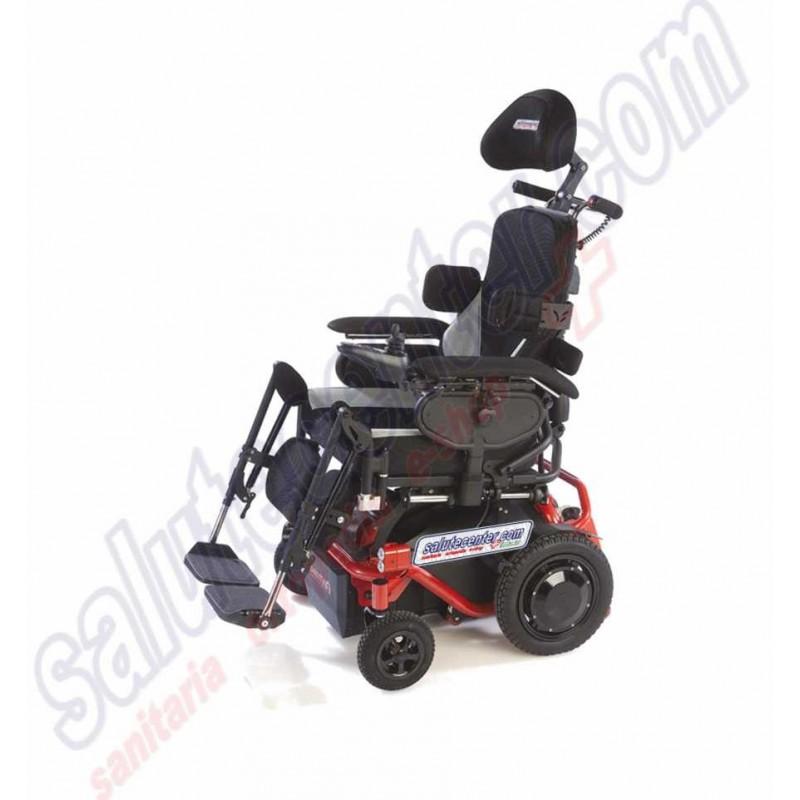 Marty Joy - Sedia a rotelle elettrica con saliscale-montascale