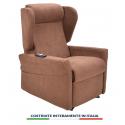 PALERMO IT 2: Poltrona relax a 2 motori per Anziani e Disabili