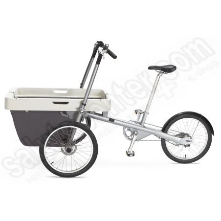 Bicicletta a 3 ruote con cestone anteriore