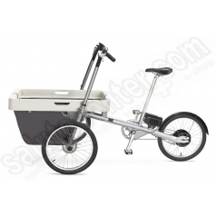 Bicicletta a 3 ruote con porta oggetti anteriore