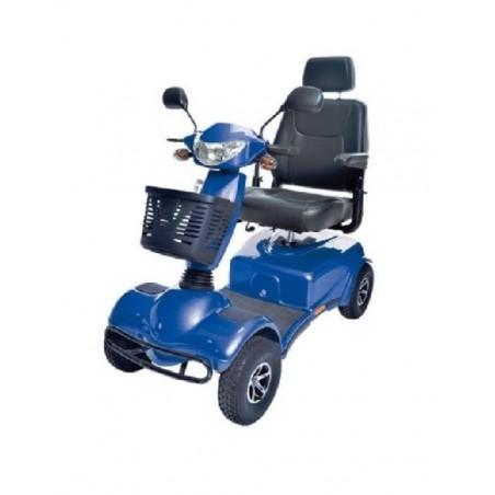 KRONO - Scooter elettrico a 4 ruote con luci e frecce a led per anziani e disabili