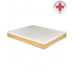 Silver Comfort - Materasso ortopedico sfoderabile in memory visco elastico