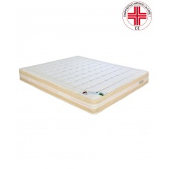 materasso in memory waterfoam con oli essenziali gaia bio mind 2.0