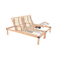 Offerta rete ortopedica elettrica a doghe in legno rinforzata Relax Go 500
