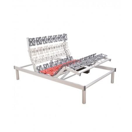 Rete ortopedica motorizzata elettrica una piazza e mezza con ammortizzatori a disco RelaxGo 5500
