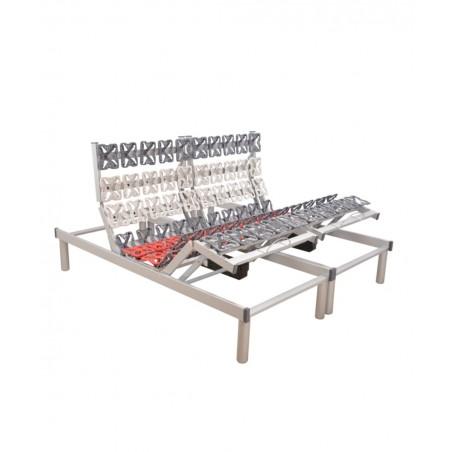 Rete ortopedica motorizzata elettrica matrimoniale con ammortizzatori a disco RelaxGo 5500
