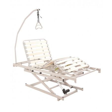 Letto degenza elevabile con Rete Ortopedica Andrea Motorizzato Elettrico