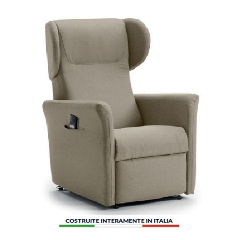Poltrona Regolabile Con Telecomando.Cagliari 2 Poltrona Relax A Due Motori Completamente Sfoderabile Con Seduta In Memory
