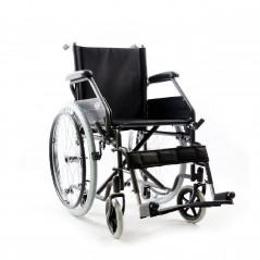 sedia a rotelle con ruote smontabili o estraibili ad estrazione rapida