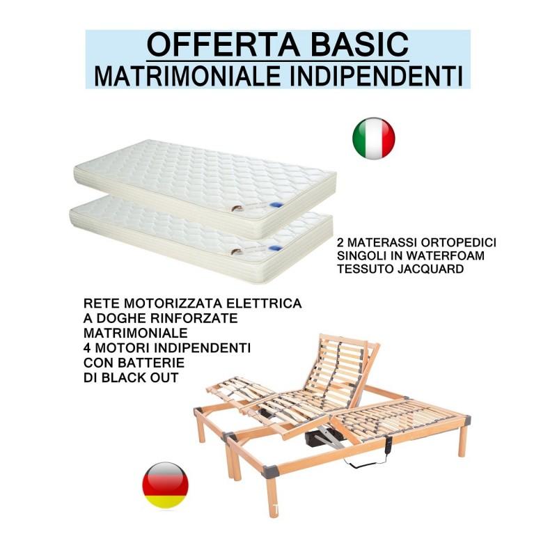 promozione Basic offerta rete elettrica e materasso ortopedico