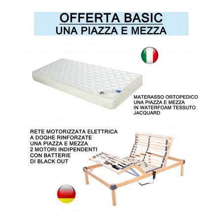 Promozione basic - Offerta rete elettrica e materasso ortopedico