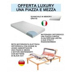Offerta luxury 2 reti elettriche 2 materassi 2 cuscini prezzi scontati