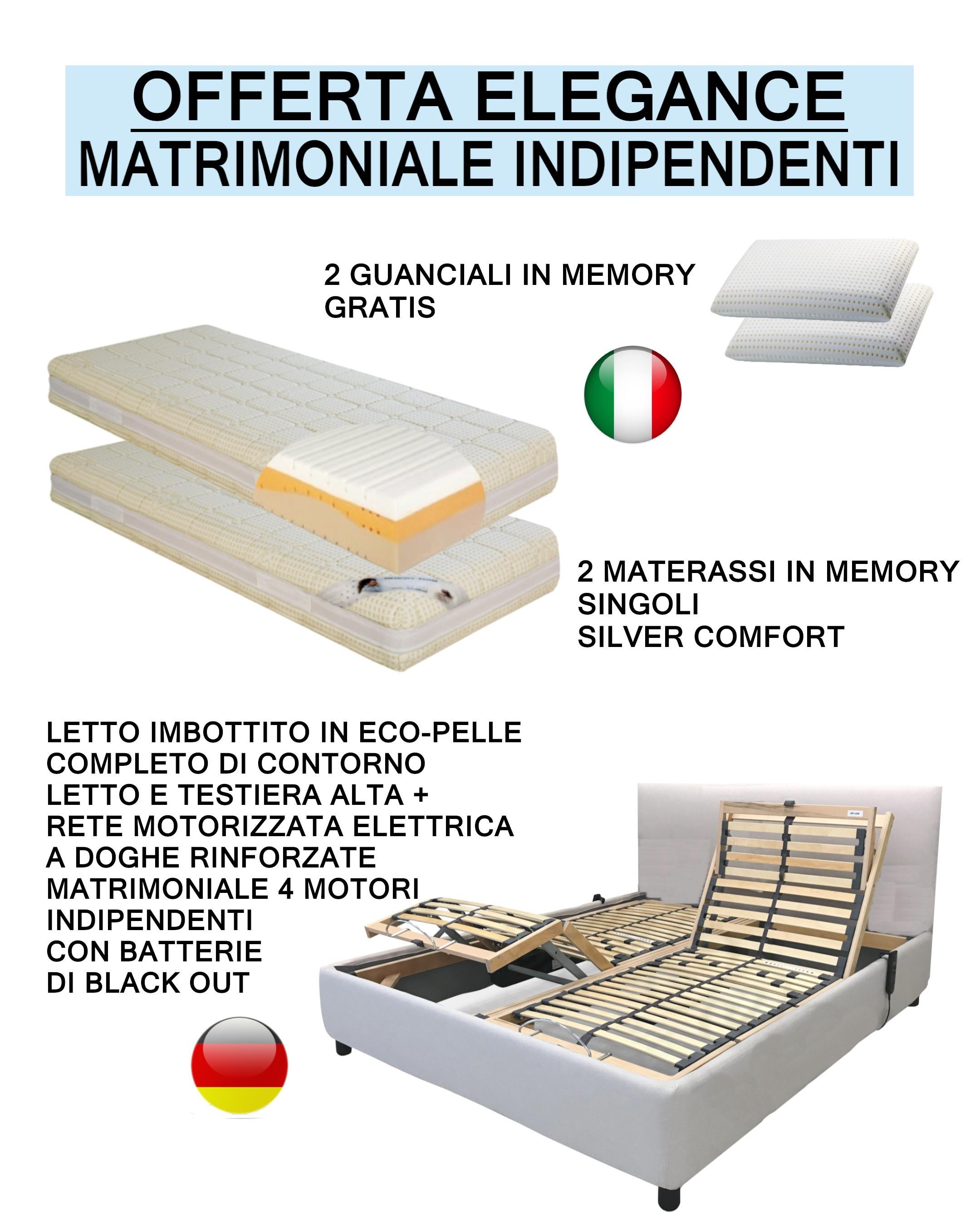 Letto E Materasso Matrimoniale.Veneto Letto Contenitore Con Giroletto Imbottito In Eco Pelle Com