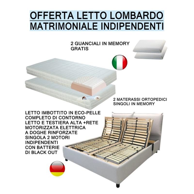 Materasso Con Letto Contenitore.Lombardo Letto Contenitore Con Giroletto Imbottito In Eco Pelle C
