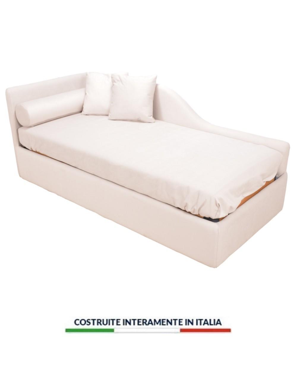 Divano Comodo Per Dormire divano letto contenitore firenze motorizzato elettrico rete a doghe