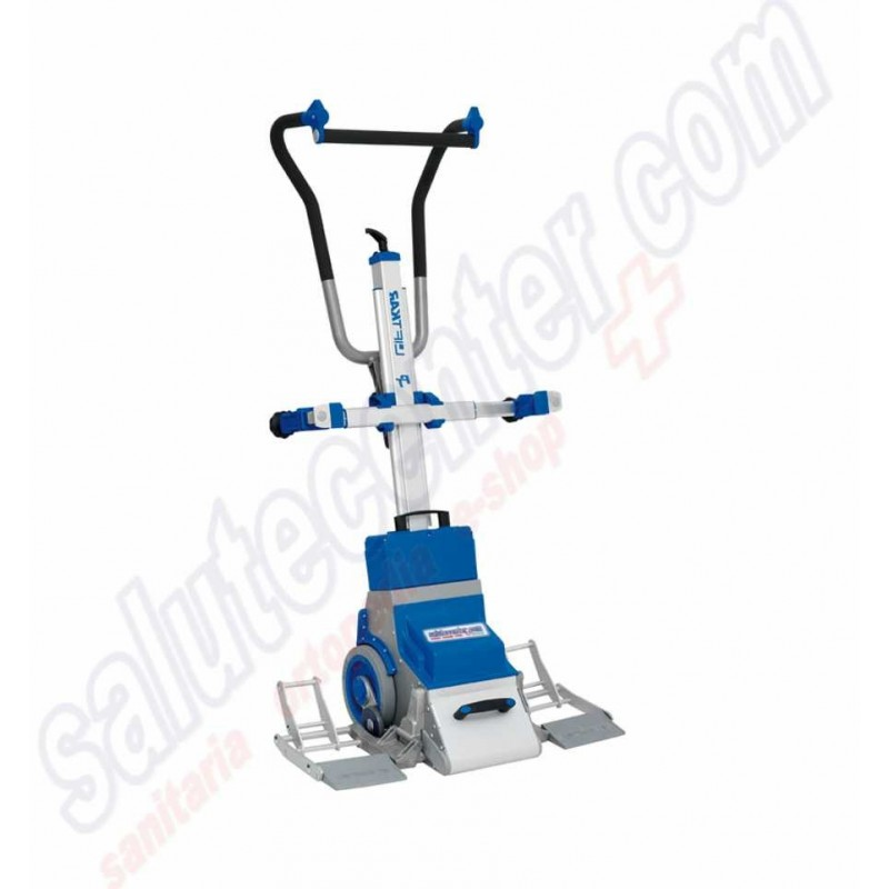 Saliscale o Montascale elettrico per sedie a rotelle o ...