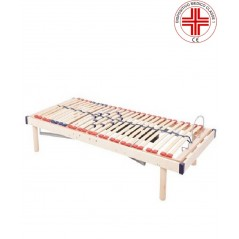 Relax Go 1000K - Rete ortopedica fissa a doghe in legno