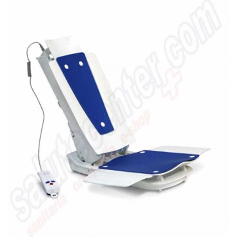 Ausilio da bagno sollevatore motorizzato elettrico per vasca da bagno for Vasca da bagno per due