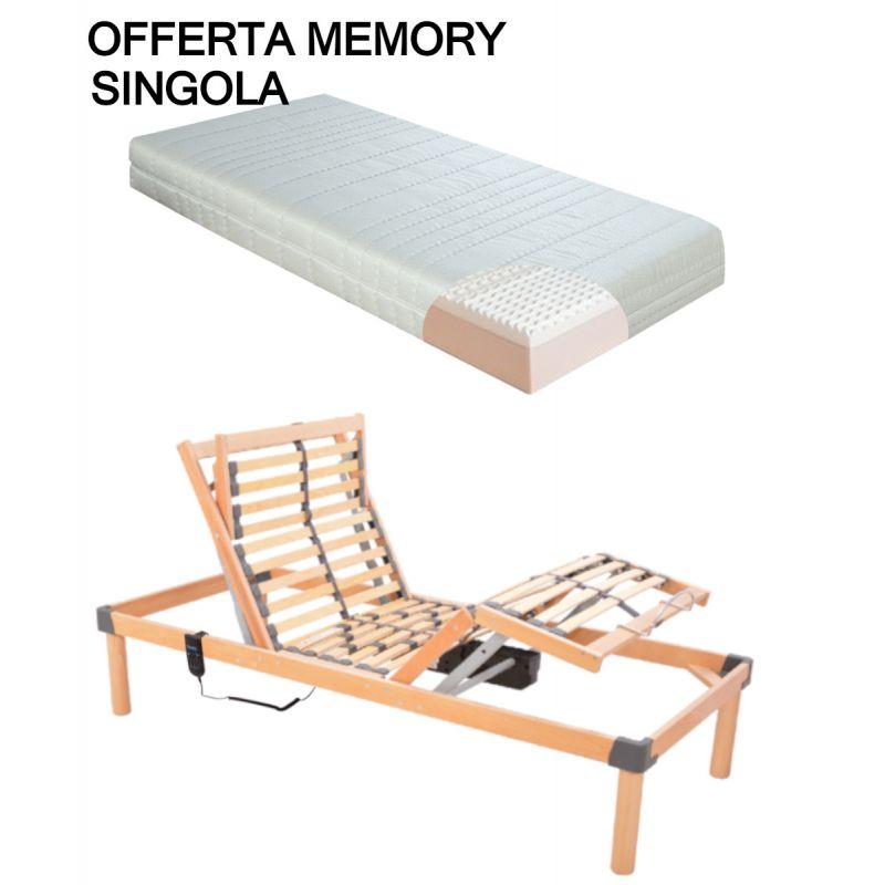 Offerta Memory Rete Motorizzata Elettrica Materasso Ortopedico Memory Iva Applicata 22 Larghezza 80 Cm