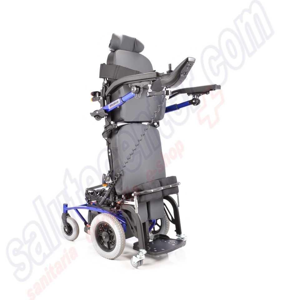 sedia a rotelle elettrica navix s u verticalizzante
