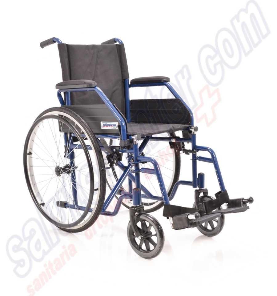 Sedia a rotelle pieghevole a prezzi scontati in acciaio ad for Sedie prezzi