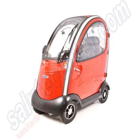 Ovetto - Scooter elettrico a 4 ruote con cabinato coperto per anziani, disabili e invalidi