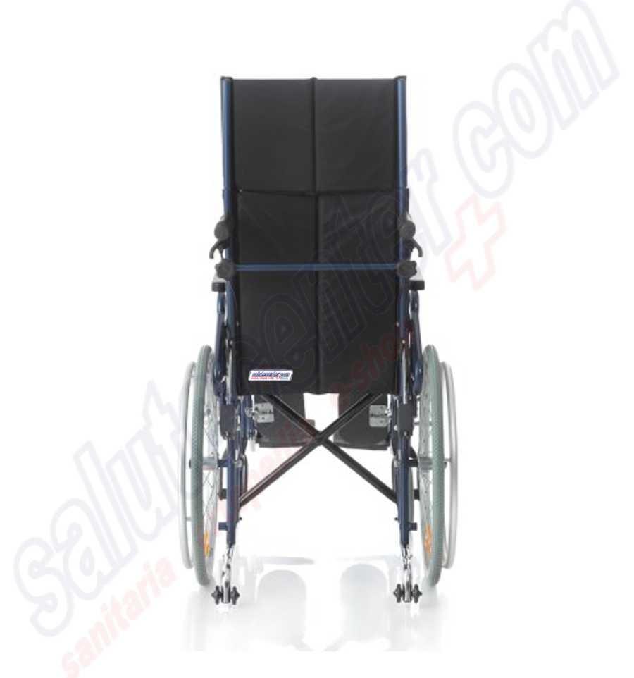 Offerta sedia a rotelle con schienale prolungato for Sedia a rotelle per gatti