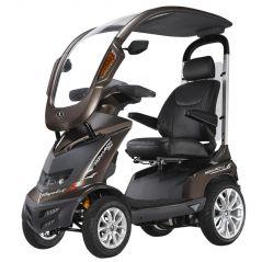 Scooter elettrico per anziani e disabili coperto con tettuccio Royale