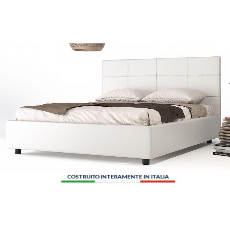 Letto Contenitore Padova Scegli Colore Dimensione Rete E Materasso