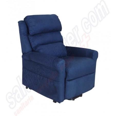 Poltrona relax Roma 3 a 2 motori vibro massaggio riscaldamento 2 ruote